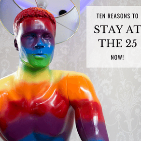 Ten reasons to stay at The 25...