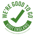 Good To Go awarded by Visit England