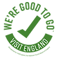 Visit England Certification of Good to Go industry standard