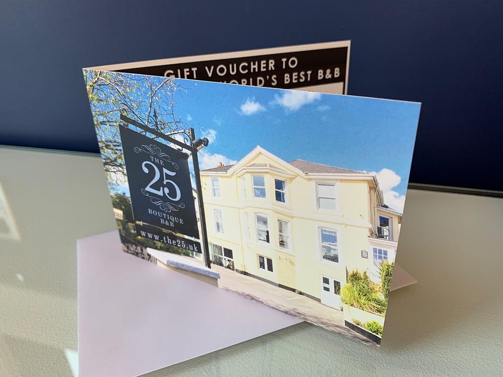 Purchase hotel gift vouchers online