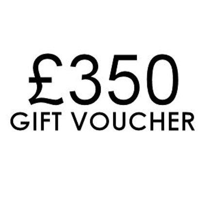 £350 Gift Voucher