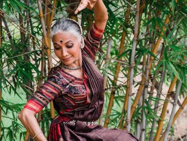 Roopa sings for master Bijayini Satpathy's choreographic premiere at Baryshnikov Arts Center