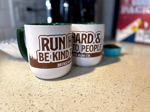 Run Hard Mug