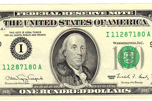 $100 coupon