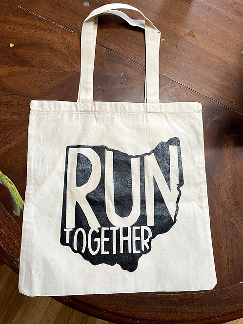 Run Together Canvas bag!