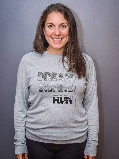 Dream Inspire Run Long... Light weight sweater