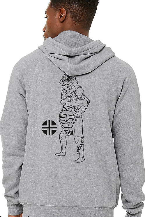 """""""WRESTLE THE TIGER"""" Hoodie"""