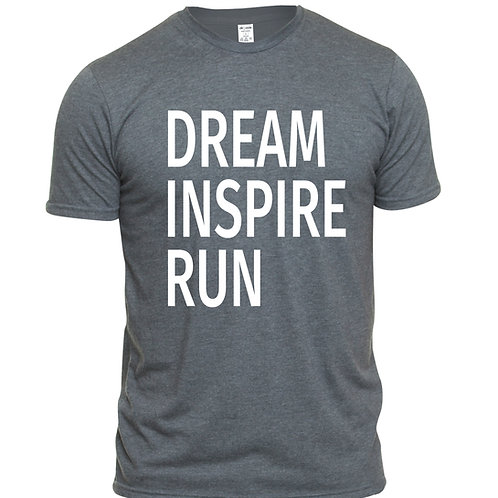 Dream Inspire Run Text Tee