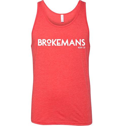 Brokeman's Text Tank Top