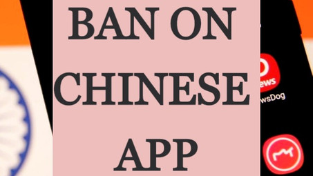 BAN ON CHINESE APP