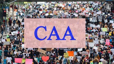 CITIZENSHIP AMENDMENT ACT (CAA): AN OVERVIEW