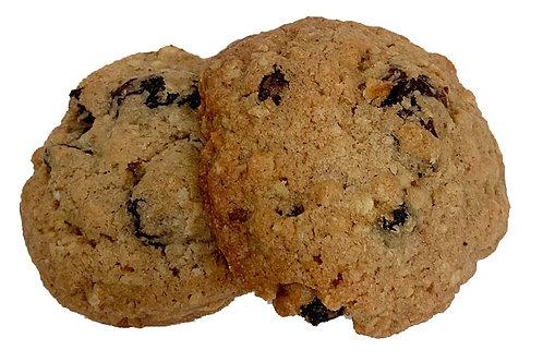 Oatmeal Dried Cherry Walnut Cookie