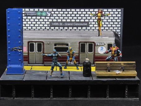 X-men Subway Scene
