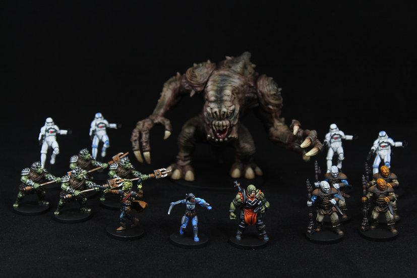 Imperial Assault Jabbas Realm Elite Painted