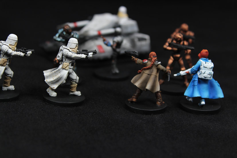 Imperial Assault Return to Hoth Elite Painted