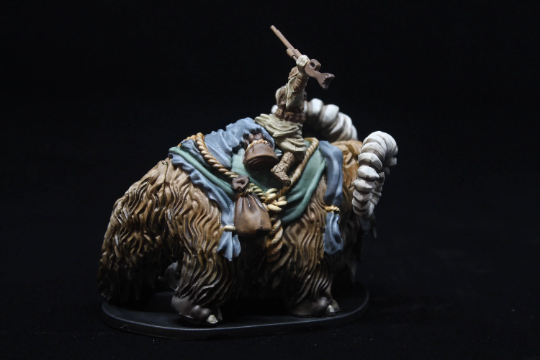 Star Wars Imperial Assault Twin Shadow Bantha Elite Painted