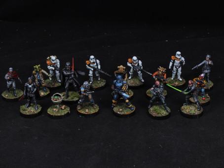 Star Wars Legion and some Mandalorian