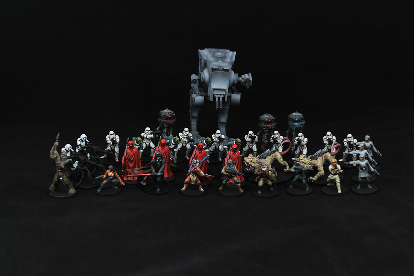 Imperial Assault Base Game Pro Elite Painted
