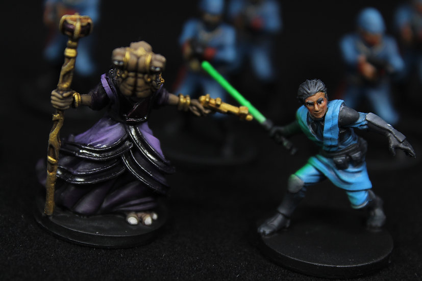 Star Wars Imperial Assault Bespin Gambit Elite Painted