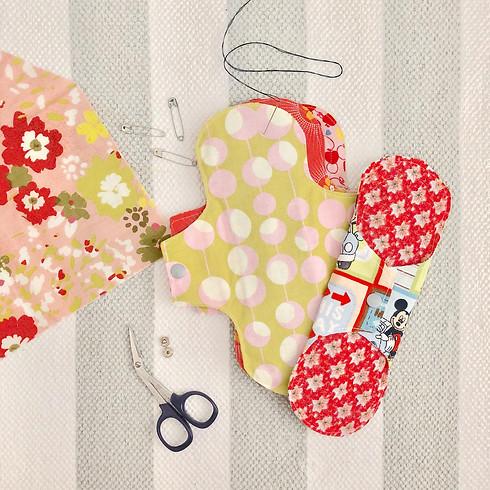 Reusable Menstrual Pad making - Upcycling version!