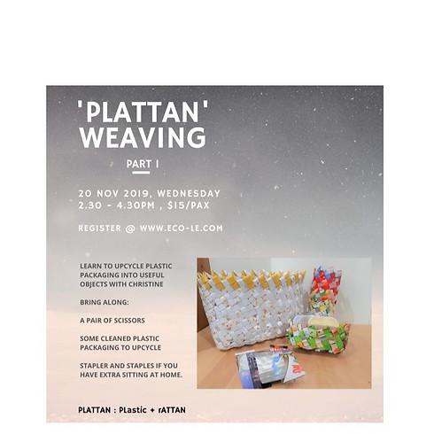 Plattan Weave Part 1
