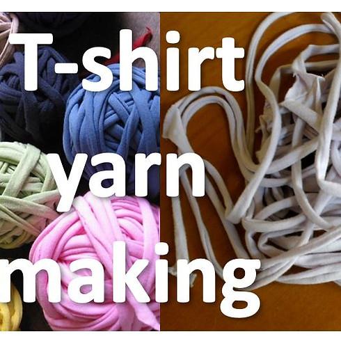 Upcycling : T-shirt Yarns