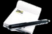 Bloc note personnalisé entreprise
