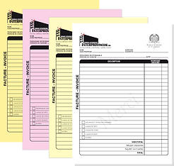 NCR Bill Book Printing 4 copies