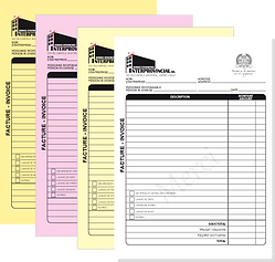 NCR bill format  PADS 2,3,4 PART