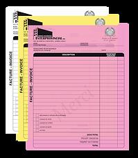 Imprimerie - formule d'affaires