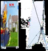 bannière rétractable montréal ,roll up montreal , grand format