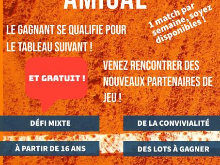 1er Grand défi amical / A partir du 10/05 / Inscriptions !!!