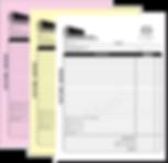 invoice pad custom
