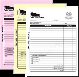 NCR bill books receipt