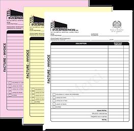 imprimerie facture 3 copies montreal