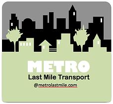 Metro Courier Service Logo
