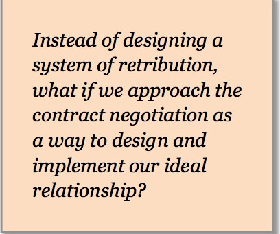 Reinventing Conflict: Using contracts to turn conflict into creativity and innovation