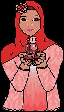 hijabi and ekgar -red.png