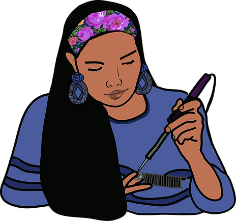 blue native girl.png