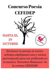 Primer Concurso de Fotografía y Poesía CEFEUDP