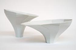 Slant Vases - Kwan Tam
