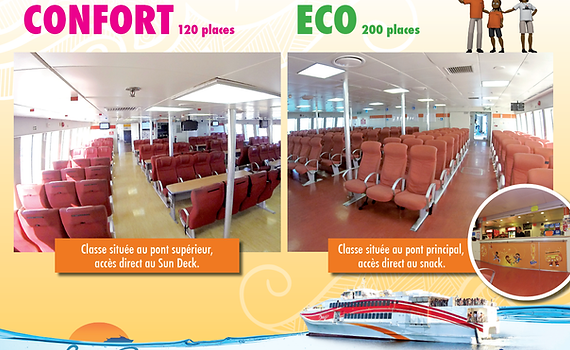 Comfort Class / Eco Class - Ferry Betico