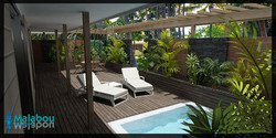 Renovated Room - Pool Suite - Malabou Beach Hotel