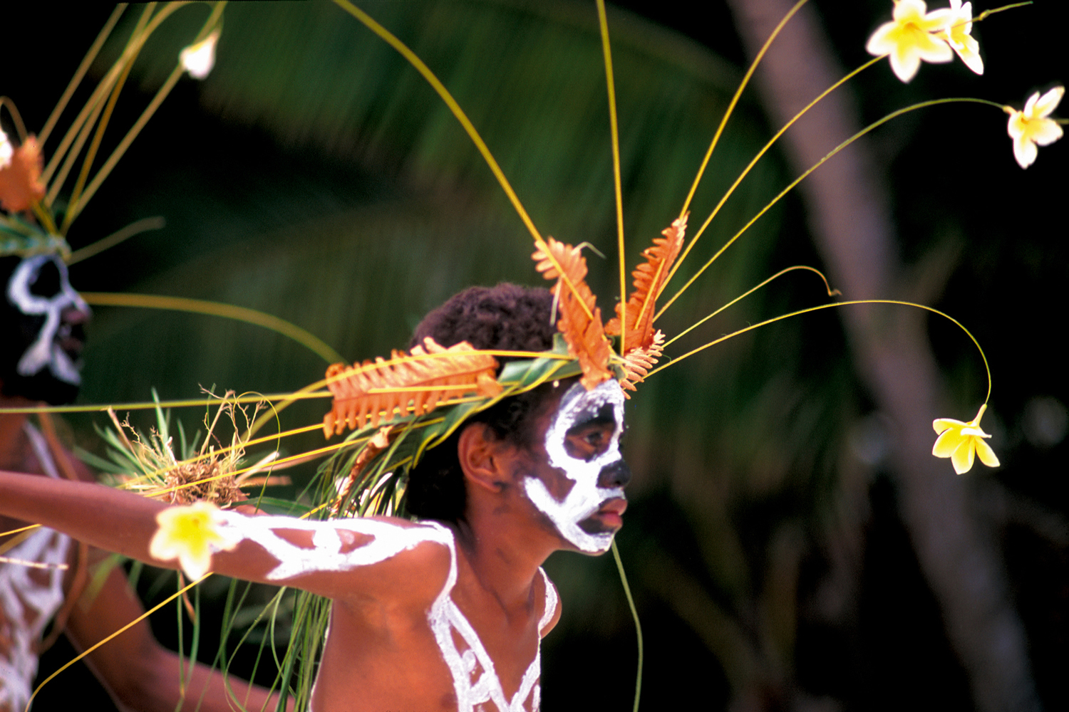 Wapan Boy Dancer, New Caledonia