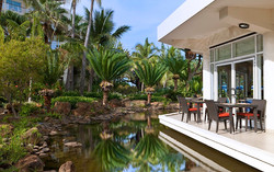 Le Sextant restaurant and garden
