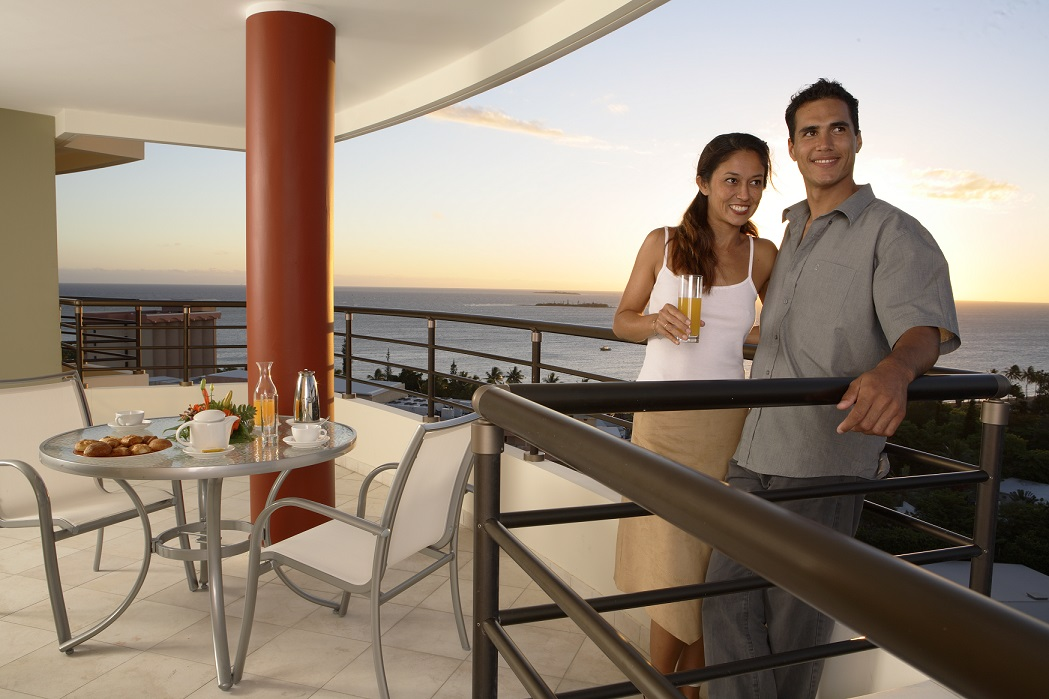 Suite balcony