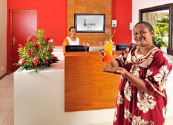reception  - La Nea Hotel