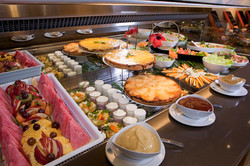 Breakfast daily at Le Lagon Hotel