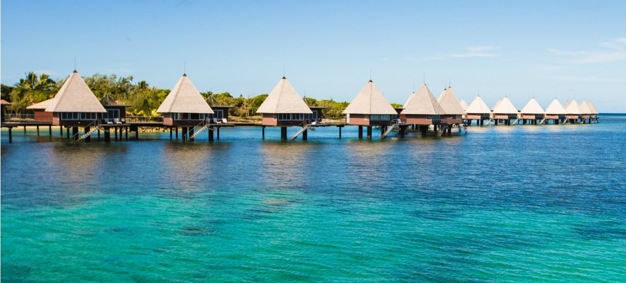 Overwater Bungalows - Noumea