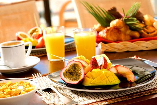 Breakfast - Le Meridien Noumea